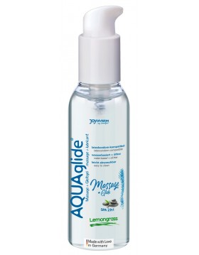 Żel/sprej-AQUAglide Massage+Glide Lemongrass, 200ml