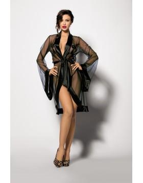 Bielizna-ANTHIS S (robe black )