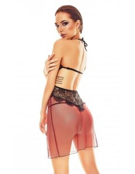 Bielizna- Fantasme chemise  S/M (czarno-czerwona)