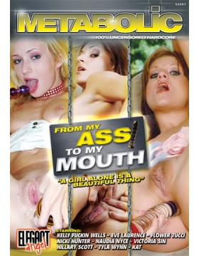 DVD-From My Ass My Mouth