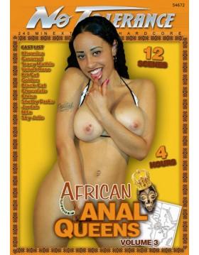 DVD-No tolerance African Anal Queens 3