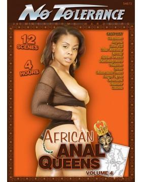 DVD-No Tolerance African Anal Queens 4