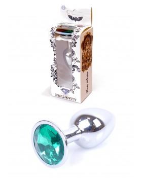 Plug-Jawellery Silver PLUG- Green