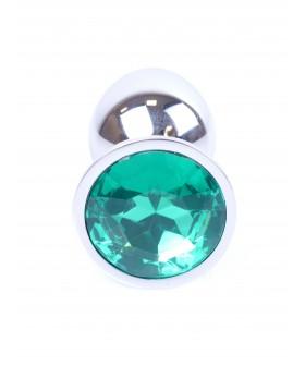 Plug-Jewellery Silver PLUG- Green