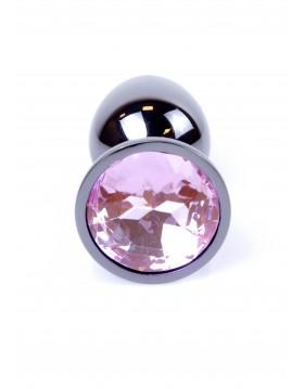 Plug-Jewellery Dark Silver PLUG- Rose
