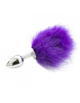 Plug-Plug anale Pon Tail Anal Plug Purple