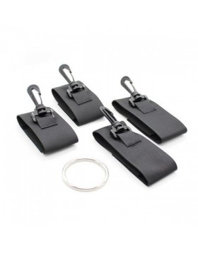 Wiązania-Costrittivo Easy Arms Restraint black