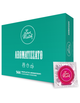 Prezerwatywy-Love Match Arromatizato - 144 pack