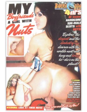 DVD-MY BOYFRIENDS A GIRL WITH NUTS
