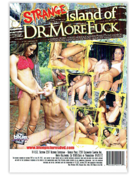 DVD-STRANGE ISLAND OF DR.MORE FUCK