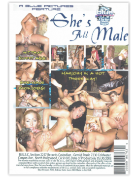 "DVD-SHE""S ALL MALE"