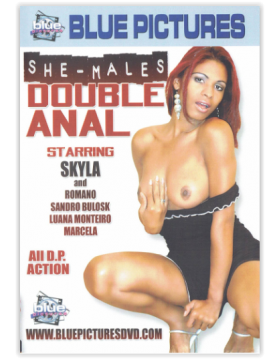 DVD-SHE-MALES DOUBLE ANAL