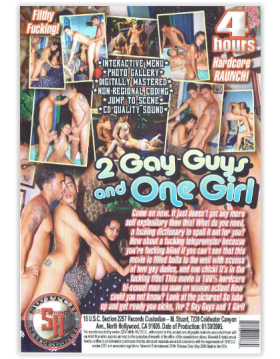 DVD-2 GAY GUYS AND ONE GIRL