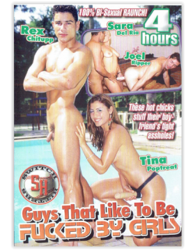 DVD-GUYS THAT LIKE TO BE FUCKED BY GIRLS