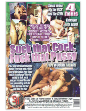 DVD-SUCK THAT COCK,FUCK THAT PUSSY