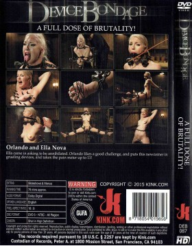 DVD-DEVICE BONDAGE A Full Dose of Brutality!