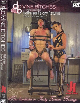DVD-DIVINE BITCHES Hellraiser Felony Returns!