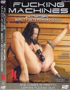 DVD-FUCKING MACHINES All Natural Beauty Gets Power Fucked