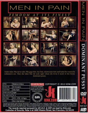 DVD-MEN IN PAIN Dominant Pussy