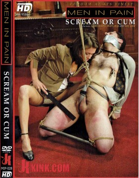 DVD-MEN IN PAIN Scream or Cum
