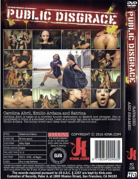 DVD-PUBLIC DISGRACE Ravaged and Shamed