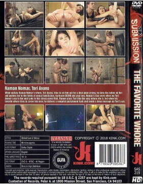 DVD-SEX and SUBMISSION The Favorite Whore