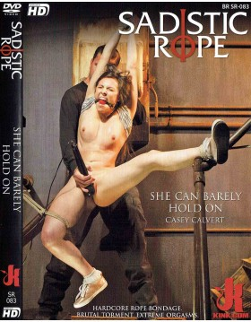 DVD-SADISTIC ROPE She can Barely Hold On