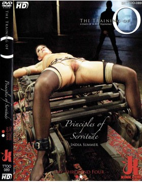 DVD-THE TRAINING OF Principles of Servitude