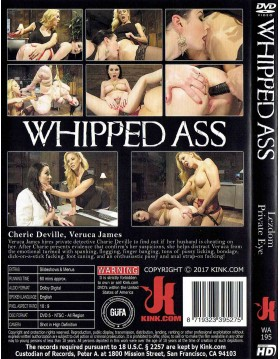 DVD-WHIPPED ASS Lezdom Private Eye