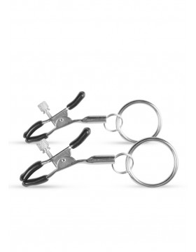 Stymulator-Metal Nipple Clamps With Ring