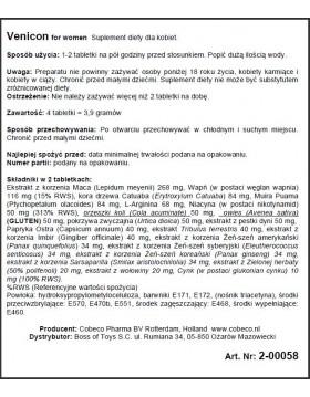 Supl.diety-Venicon for Women EU