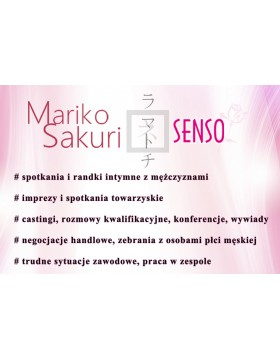 Feromony-Mariko Sakuri SENSO 50 ml for women