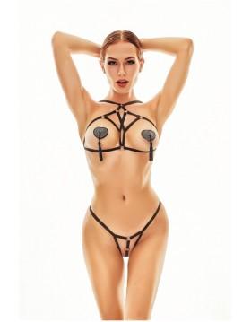 Bielizna - Xantho set XXL/XXXL (harness+string/uprząż+string)
