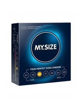 Prezerwatywy-MY SIZE 53 mm 3er