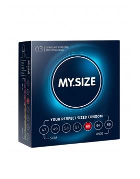 Prezerwatywy-MY.SIZE 60 mm 3er