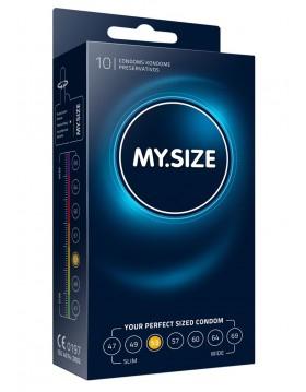 Prezerwatywy-MY.SIZE 53 mm 10er