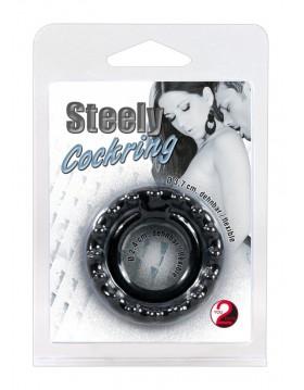 Pierścień-5070320000 Steely Cockring-Wibrator