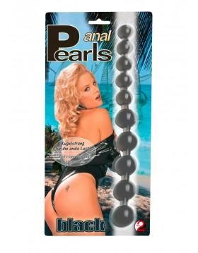 Plug/kulki-5116410000 Anal Pearls Black