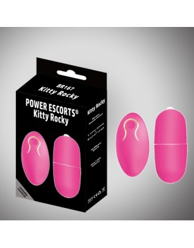 Wibrator - Kitty Rocky Remote Control pink