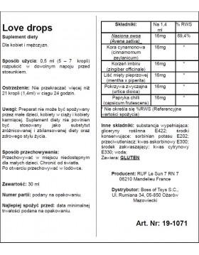 Supl.diety-LOVE DROPS 30 ML