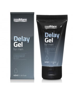 Żel- CoolMann Delay Gel (40ml)