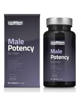 Supl. diety- CoolMann Male Potency Tabs (60 tab)