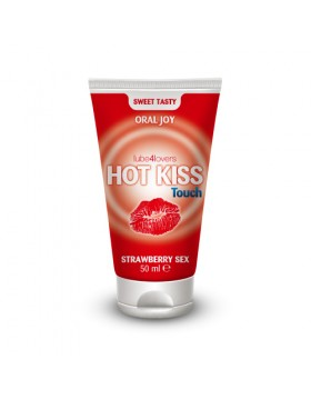 HOT KISS TOUCH STRAWBERRY GEL 50ML