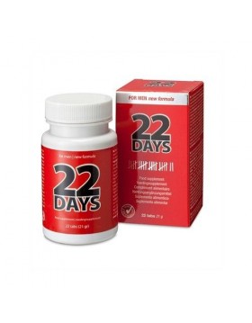 Supl.diety-22 Days Penis Extention (22 tab)