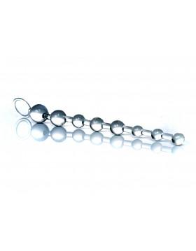 Plug/kulki-Jelly Anal 10 Beads Clear