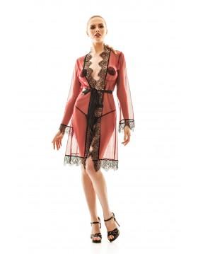 Florella XXL/XXXL (szlafrok+stringi/robe+thongs)
