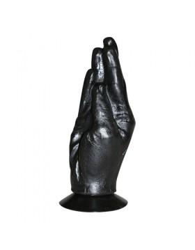 All Black Fisting Hand 18 cm