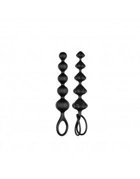 Zestaw - Satisfyer Love Beads (set of 2) (Black)
