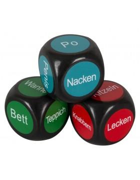 3 pleasure dice German,