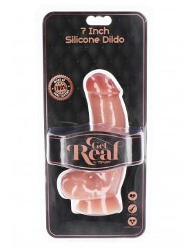 Silicone Dildo 7 inch w Balls
